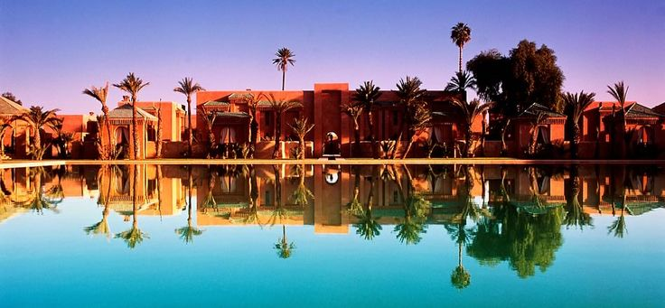 A beautifully romantic hotel in Marrakech, Morocco